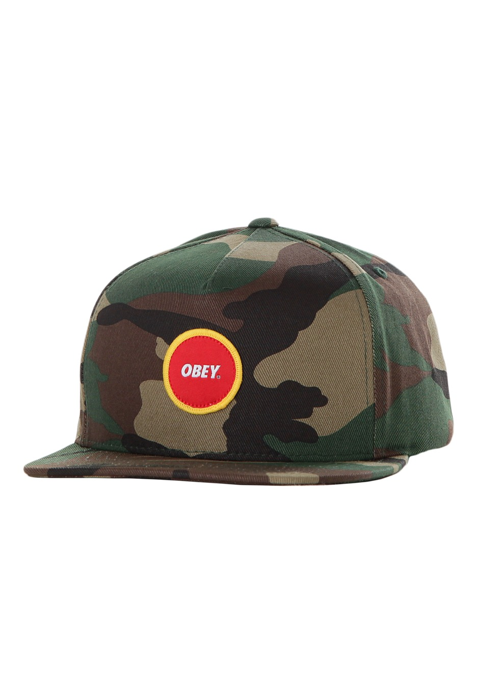 d8044e7afbe Obey - Circle Patch Field Camo Snapback - Cap - Streetwear Shop -  Impericon.com Worldwide