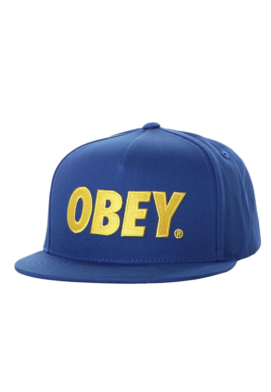 Obey - The City Blue Snapback - Cap - Streetwear Shop - Impericon.com  Worldwide 6529ed81f12