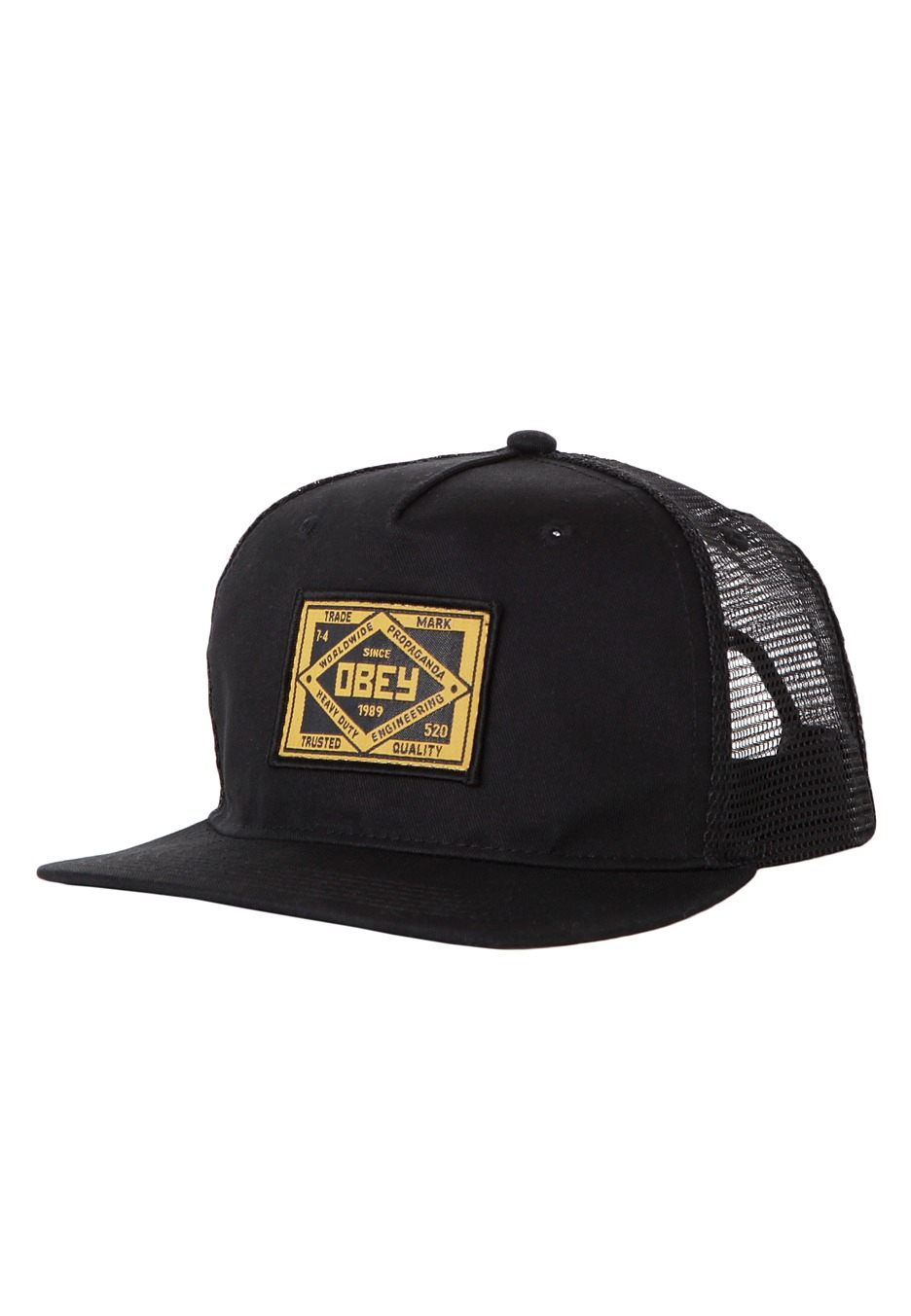 Obey - Trademark Trucker - Cap - Streetwear Shop - Impericon.com Worldwide 6e5e6728a86