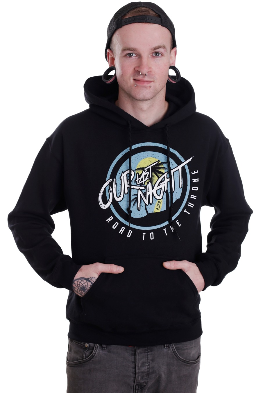 our last night road to the throne hoodie official