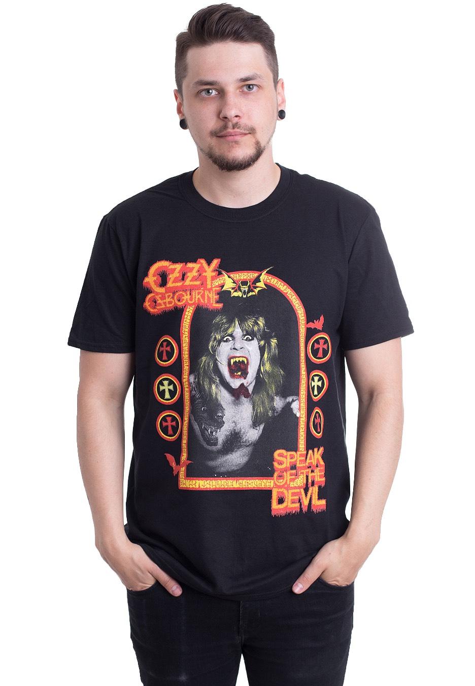 480e2e748 Ozzy Osbourne - Speak Of The Devil - T-Shirt - Official Classic Rock  Merchandise Shop - Impericon.com US