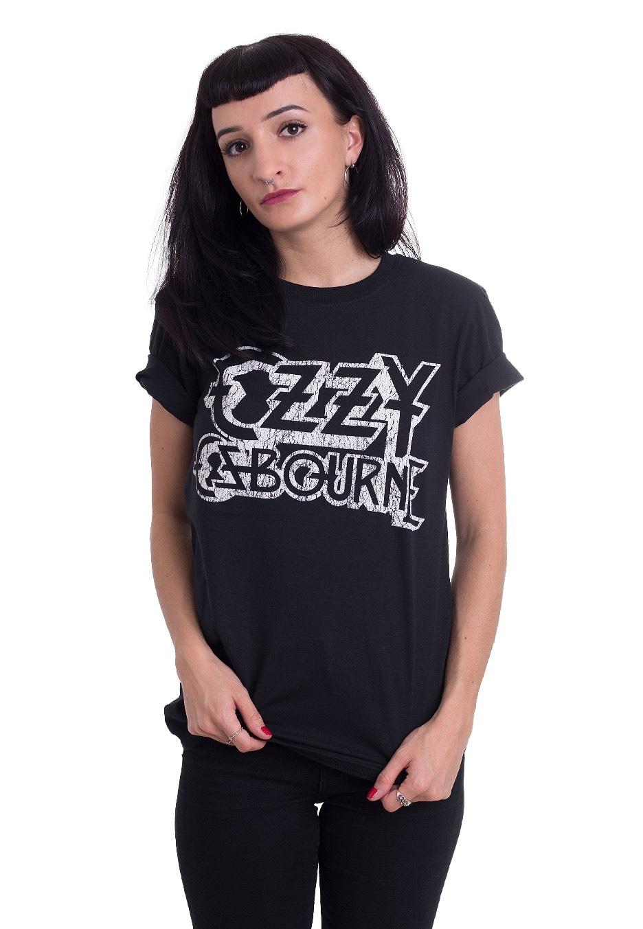 c3999322e Ozzy Osbourne - Vintage Logo - T-Shirt - Official Hard Rock Merchandise Shop  - Impericon.com UK
