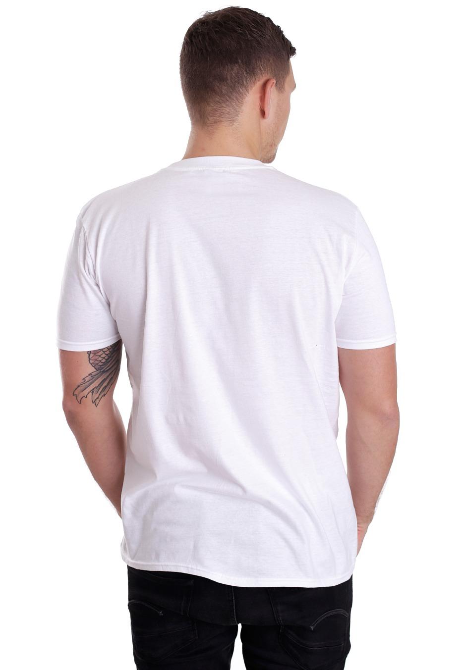 12b2e13ba5e0 Paramore - Future Silhouette White - T-Shirt - Official Pop ...