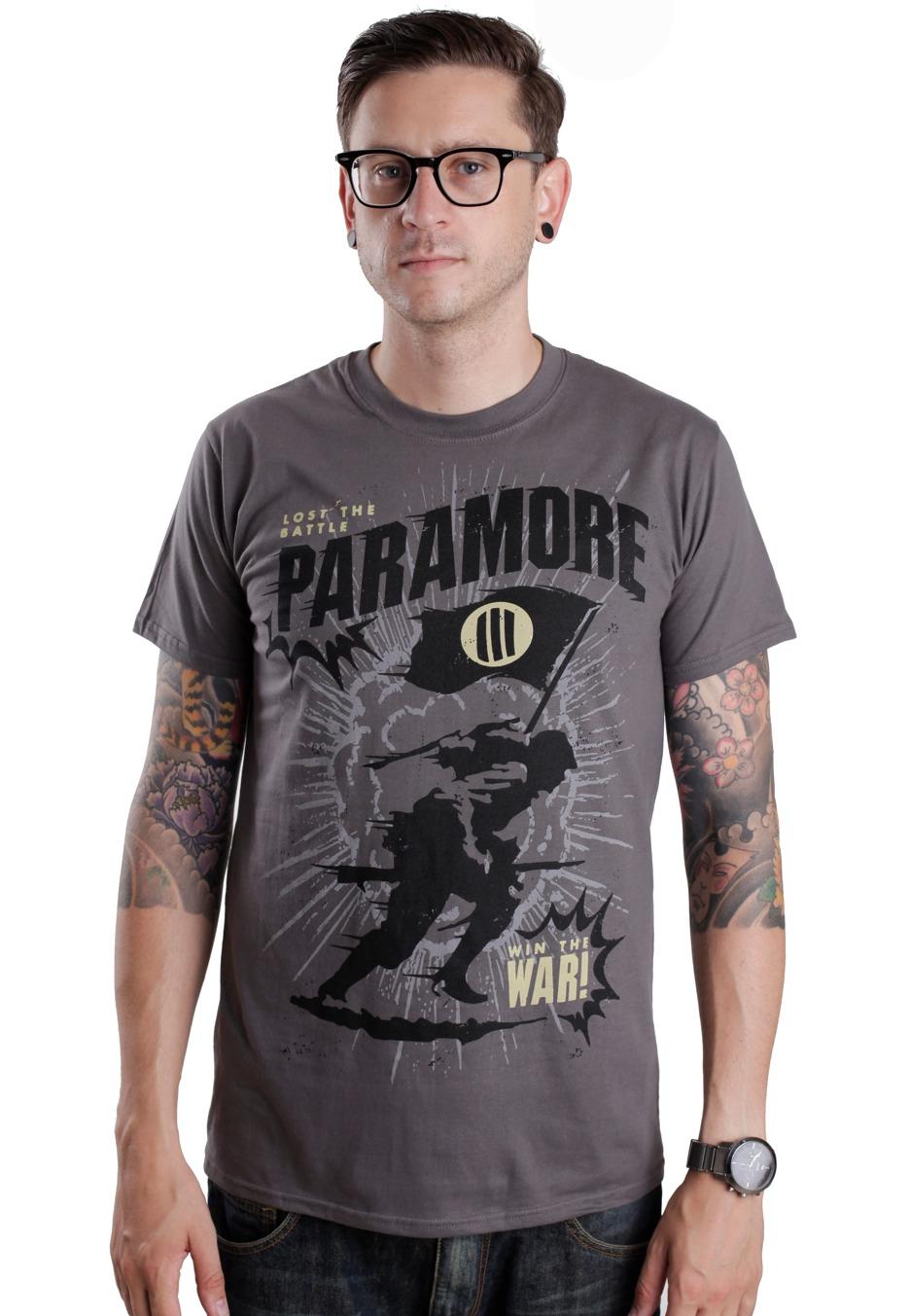Paramore - Mindfield Grey - T-Shirt - Official Pop Punk ... Paramore Mersch Nederland