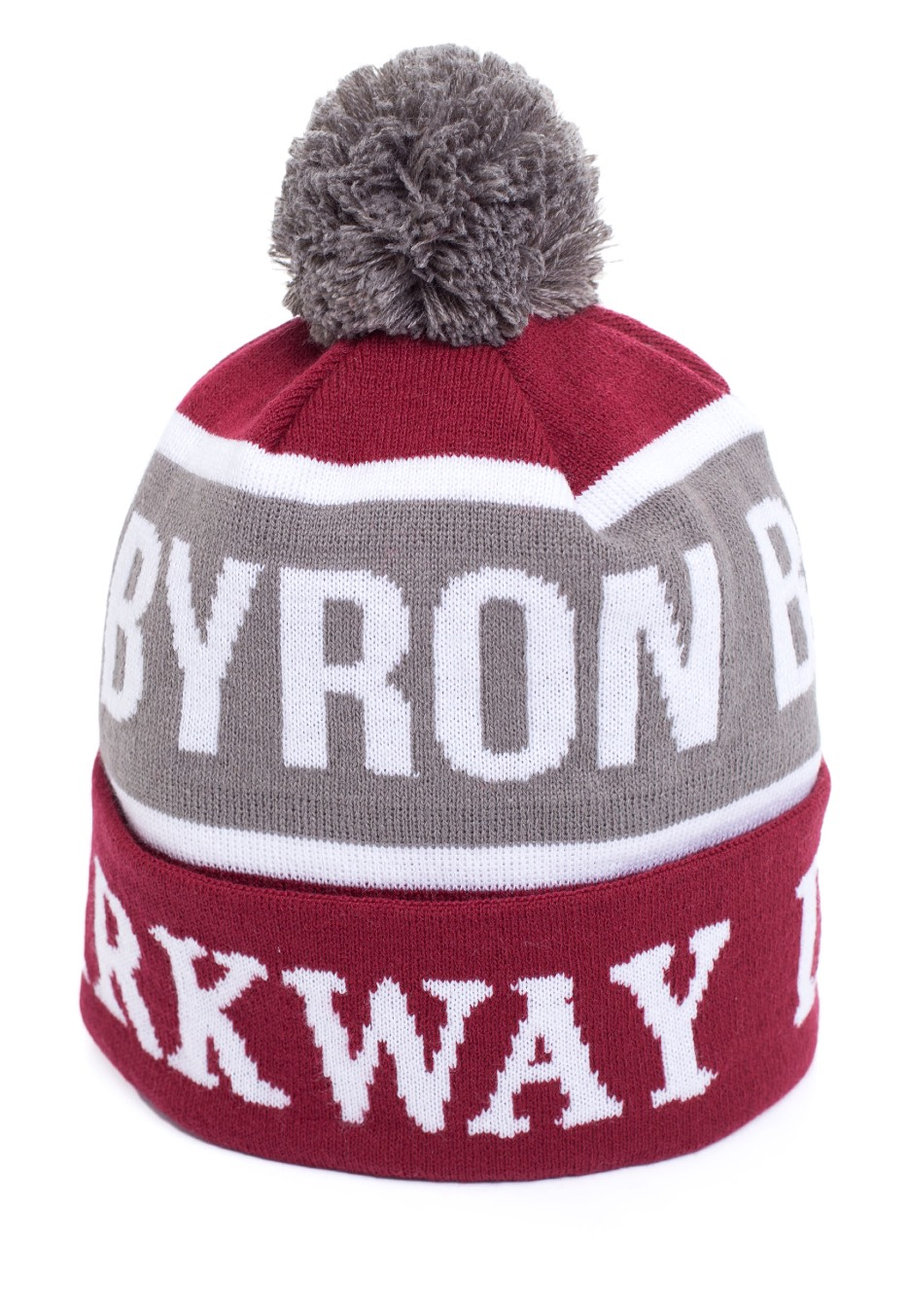 cf7d751ba4f Parkway Drive - Byron Bay Burgundy Pom - Beanie - Impericon.com UK