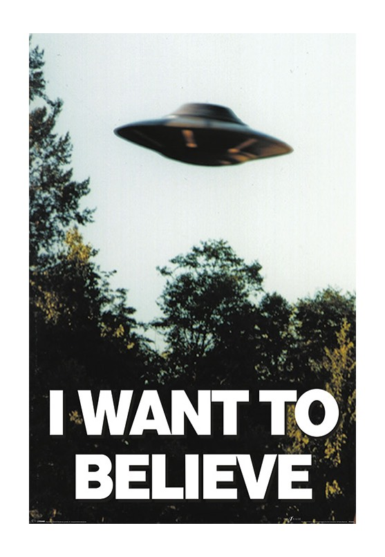 The X Files - I Want To Believe - Poster - Impericon.com DE