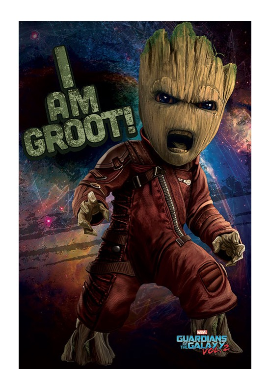 Guardians Of The Galaxy - Angry Groot -