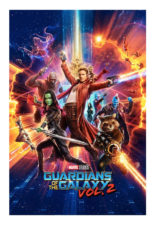 Guardians Of The Galaxy - One Sheet -