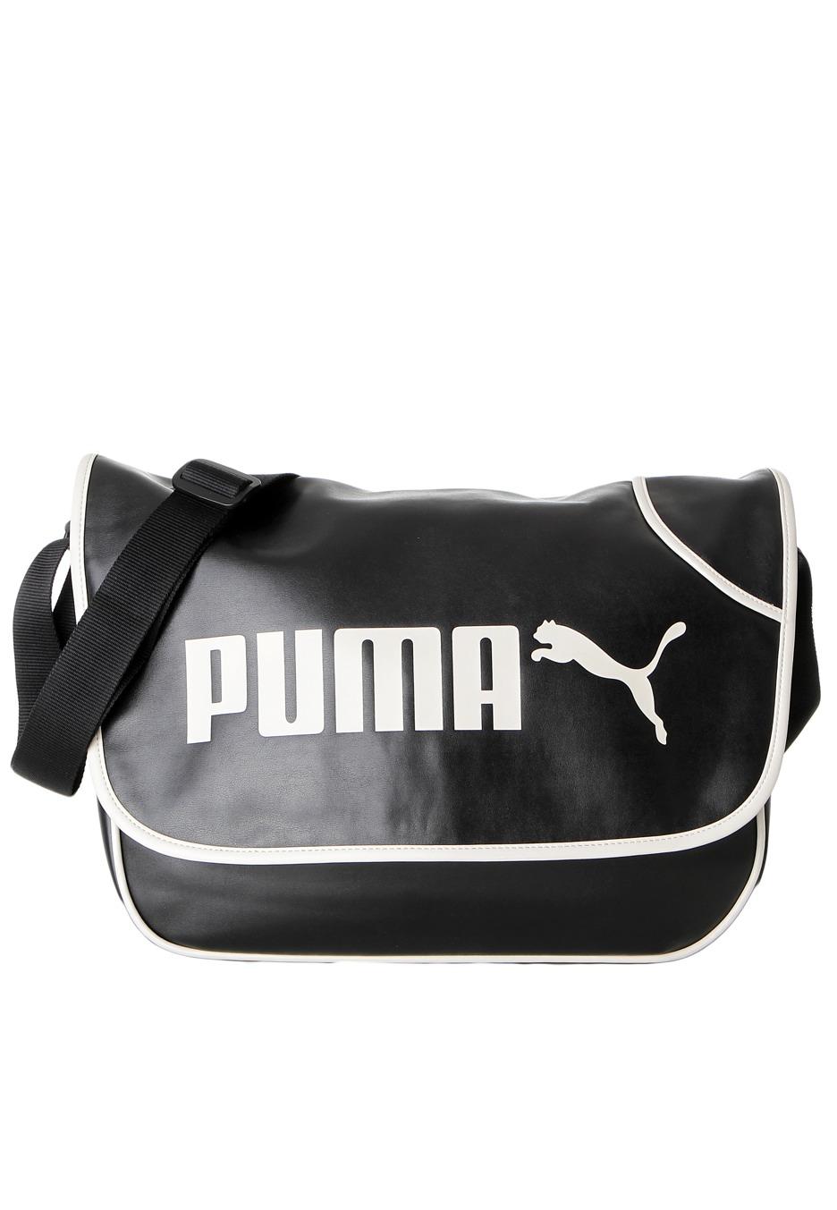 Puma Campus Messenger Black Birch Bag