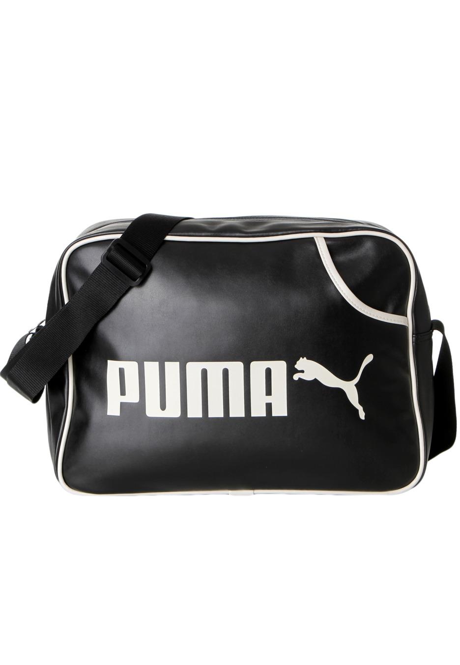 Puma - Campus Reporter Black/Birch - Bag - Streetwear Shop - Impericon.com  US