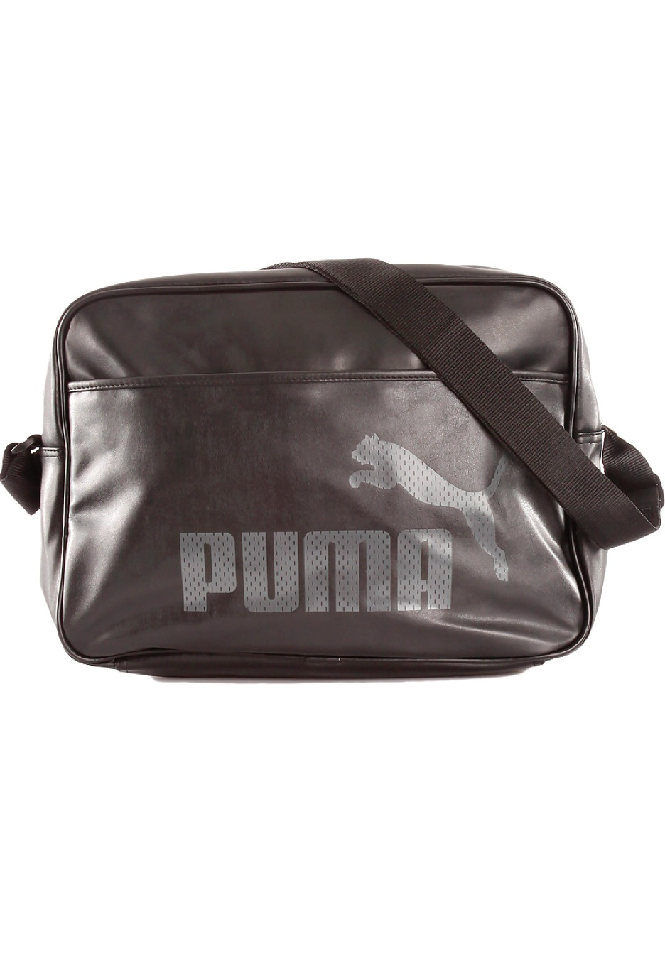 8a0cb83e28 Puma - Campus Reporter Black/Black Steel Grey - Sac - Impericon.com FR