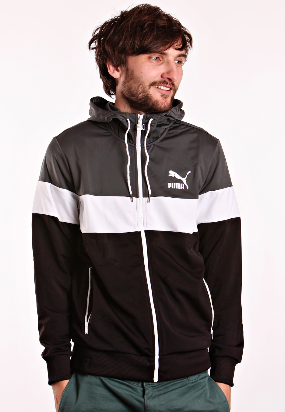 Puma Hooded Jacket Puma Shoes Clothes Amp Accessories