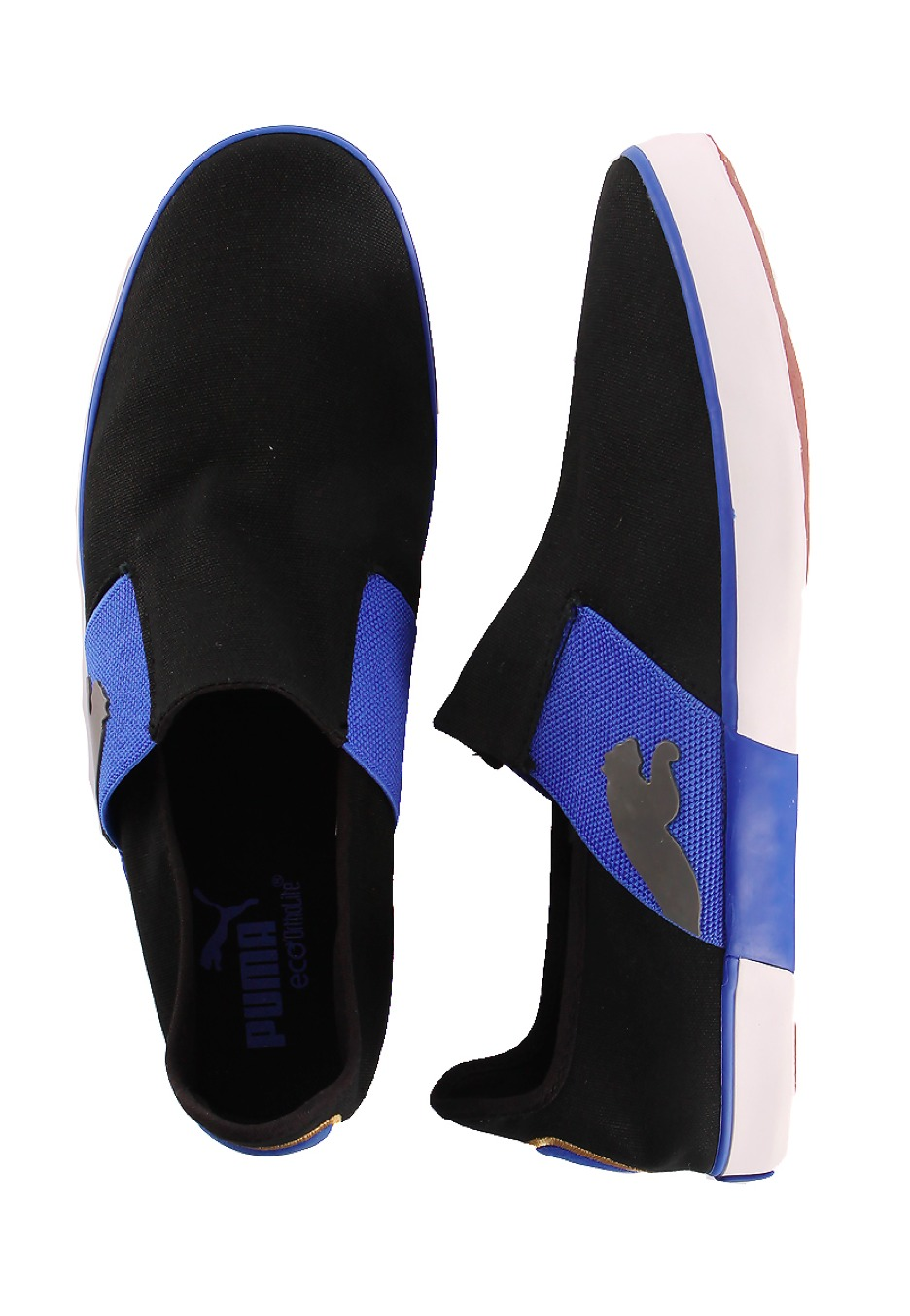 Puma - Lazy Slip-On Black/Dazzling Blue