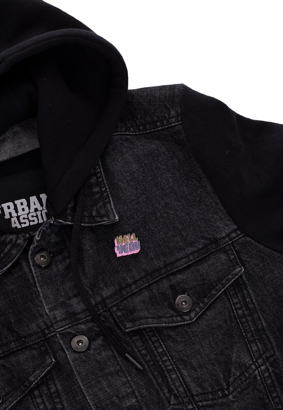 Punky Pins - Hell Yeah Soft Enamel - Pin - Streetwear Shop ... 57c5f9dfd8bb8