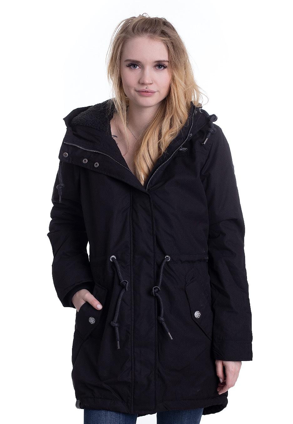 Jacken - Ragwear Elba Coat B Black Jacken  - Onlineshop IMPERICON
