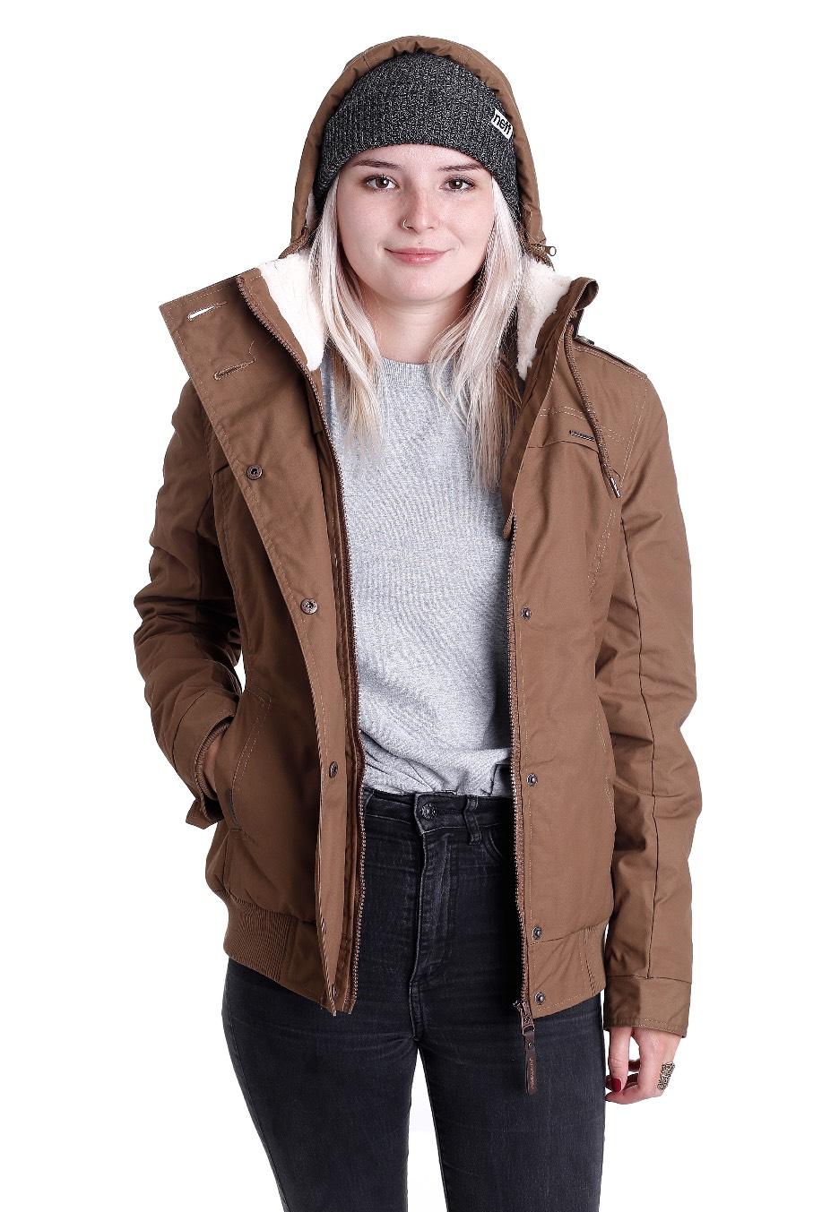 Ragwear mantel braun