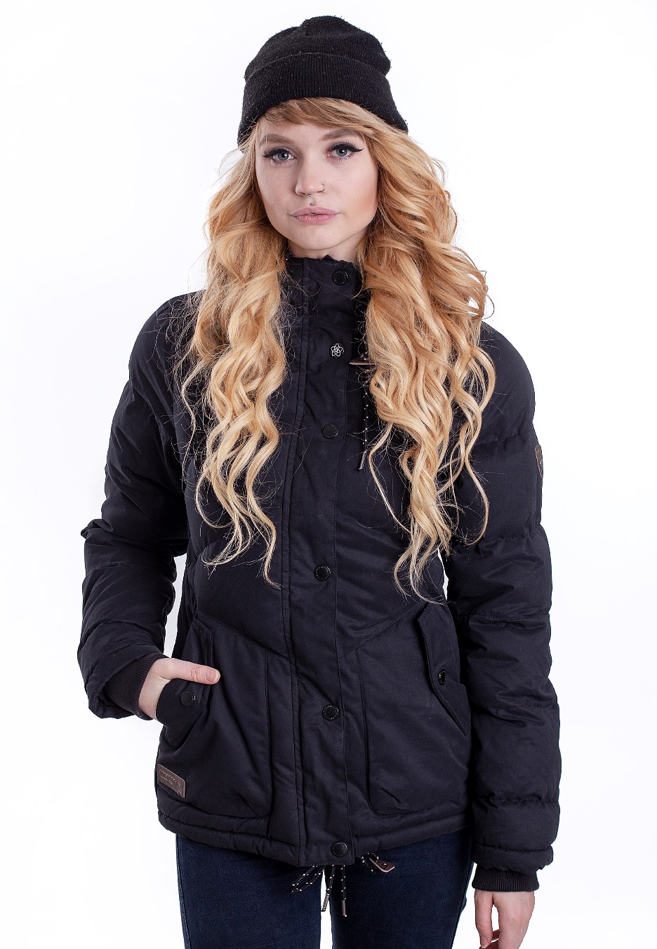 Jacken - Ragwear Felow Black Jacken  - Onlineshop IMPERICON