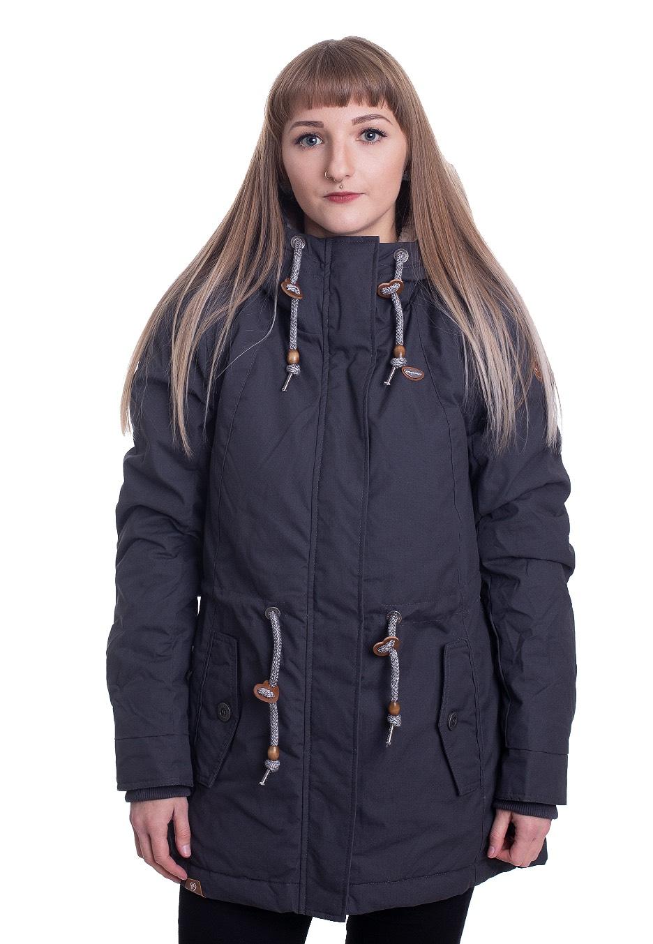 Jacken - Ragwear Monadis Dark Grey Jacken  - Onlineshop IMPERICON