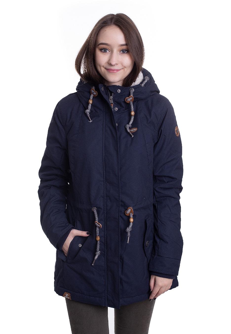 Jacken - Ragwear Monadis Navy Jacken  - Onlineshop IMPERICON