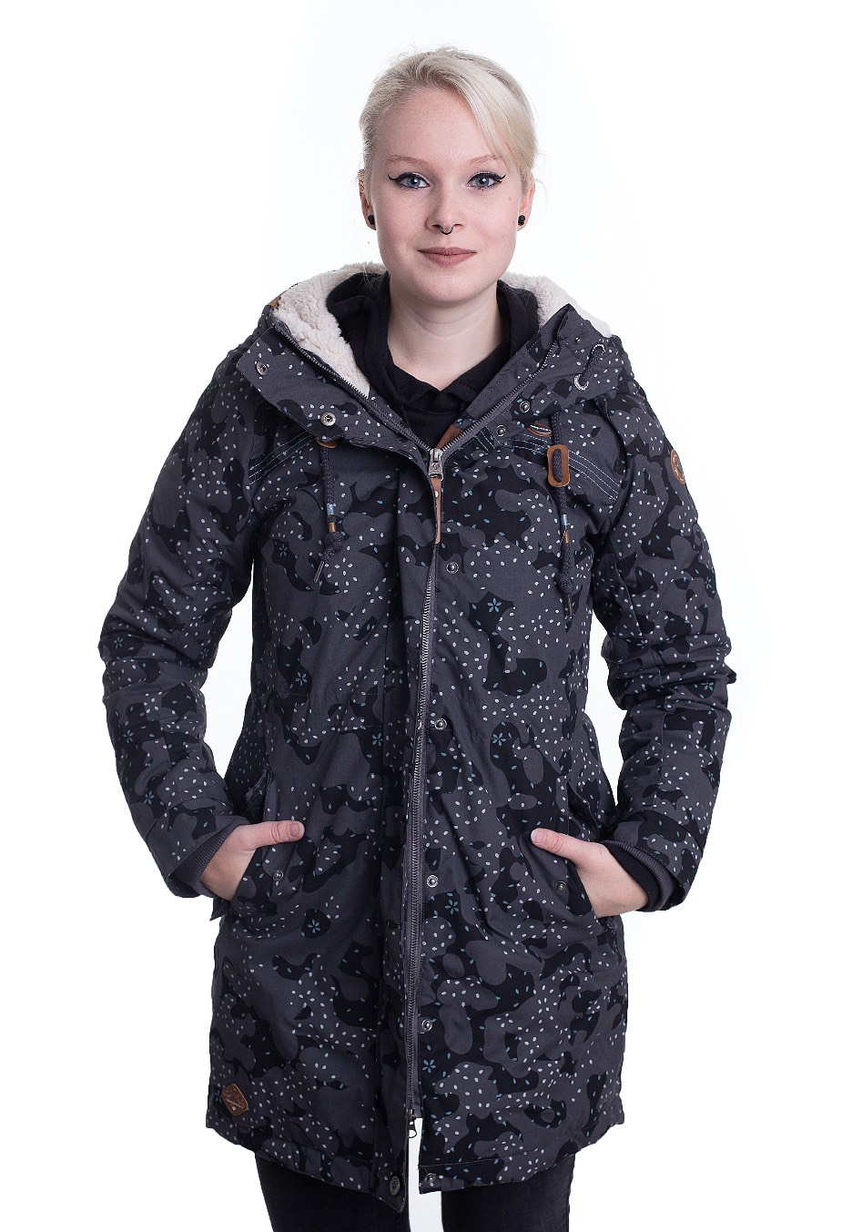 Jacken - Ragwear Tawny Camo Dark Grey Jacken  - Onlineshop IMPERICON