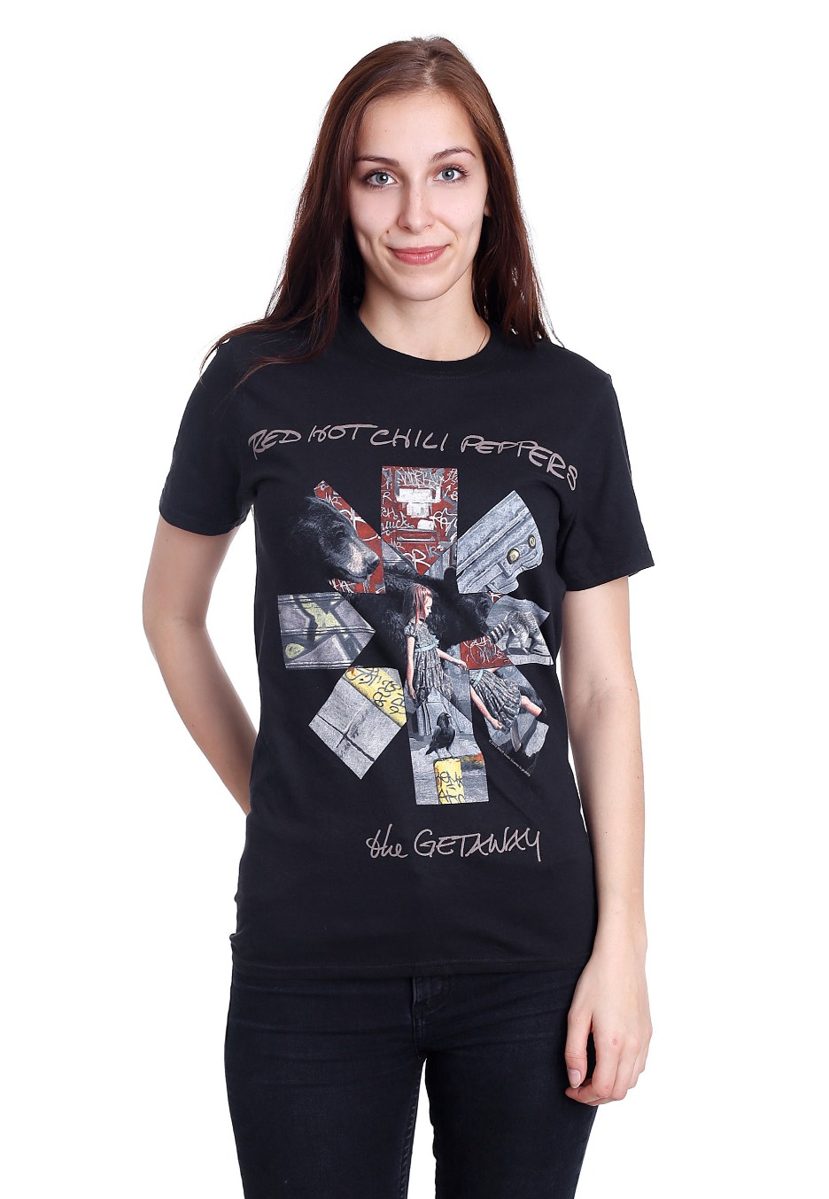Getaway Album Asterisk T-Shirt Red Hot Chili Peppers