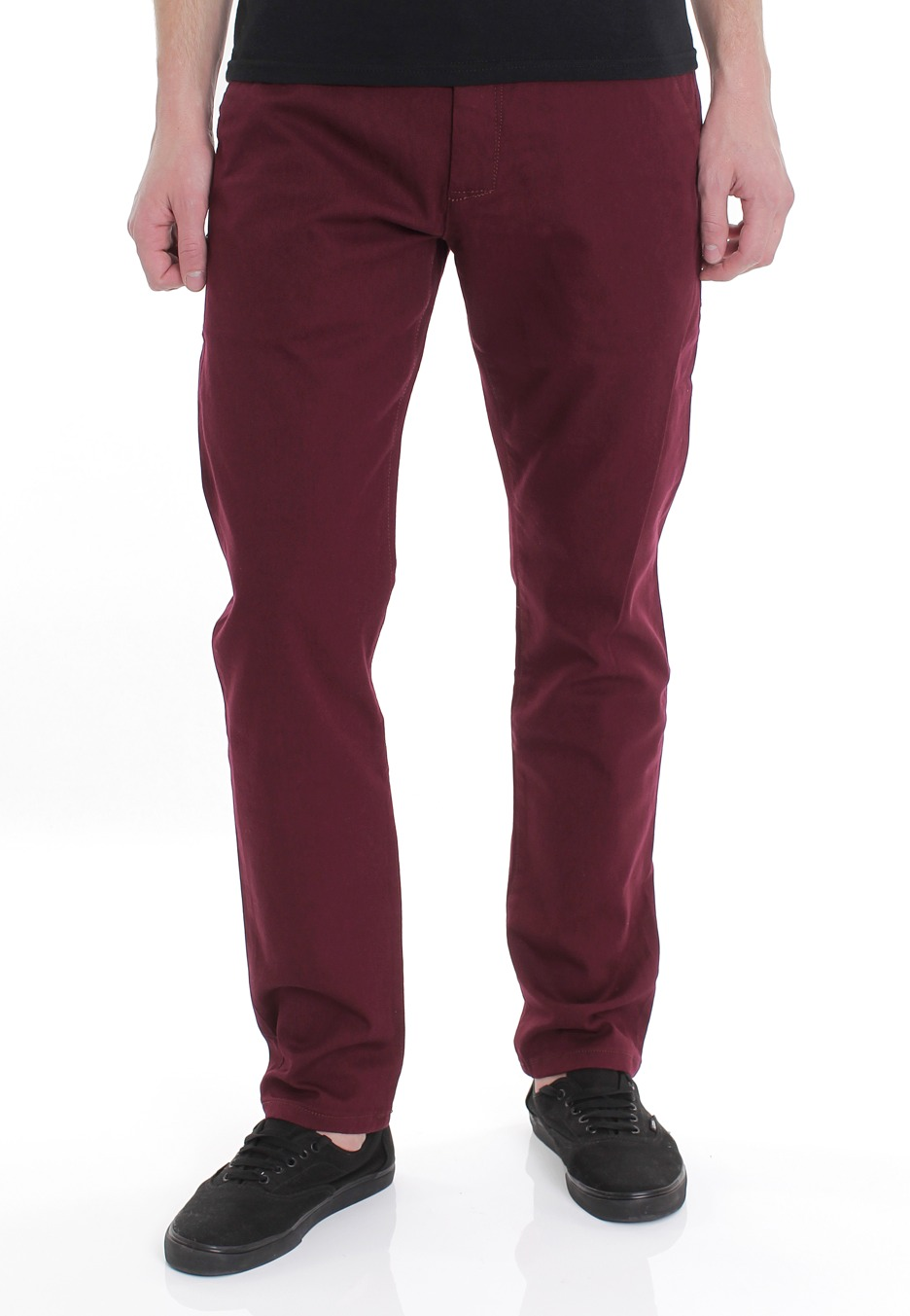 REELL - Slim Stretch Chino Wine Red - Jeans - Impericon.com Worldwide