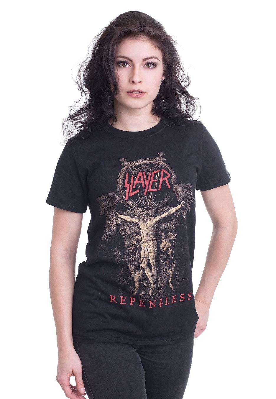 Slayer Cruciform Skeletal T Shirt Offizieller Metal