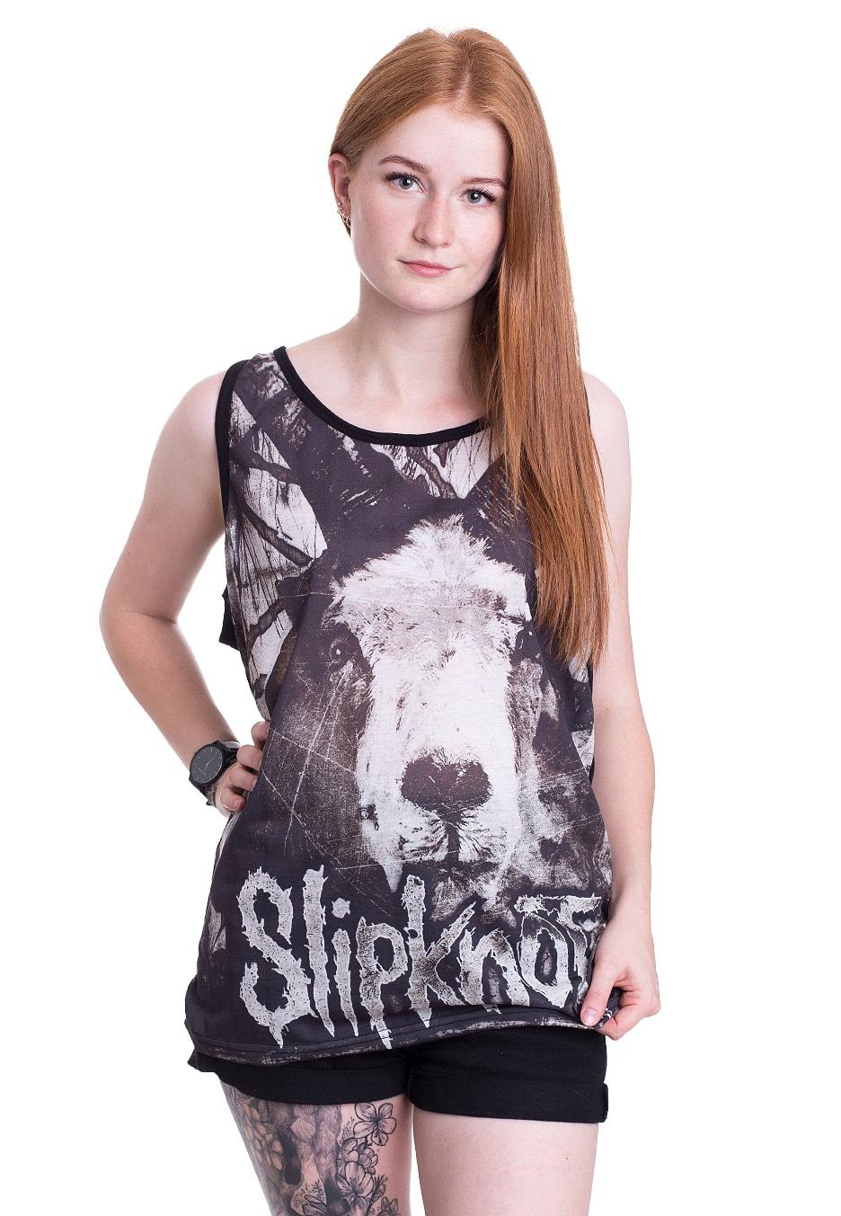 Slipknot - Etched Goat Allover - Tank - Official NU Metal ... f7092b060
