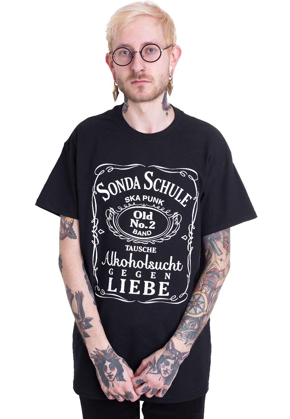 Sondaschule - Alkoholsucht - - T-Shirts