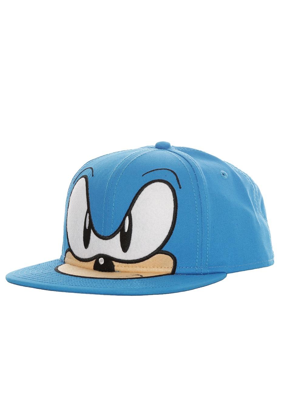 Sonic - Sonic The Hedgehog Blue - Cap - Impericon.com Worldwide b4b41fc35b10