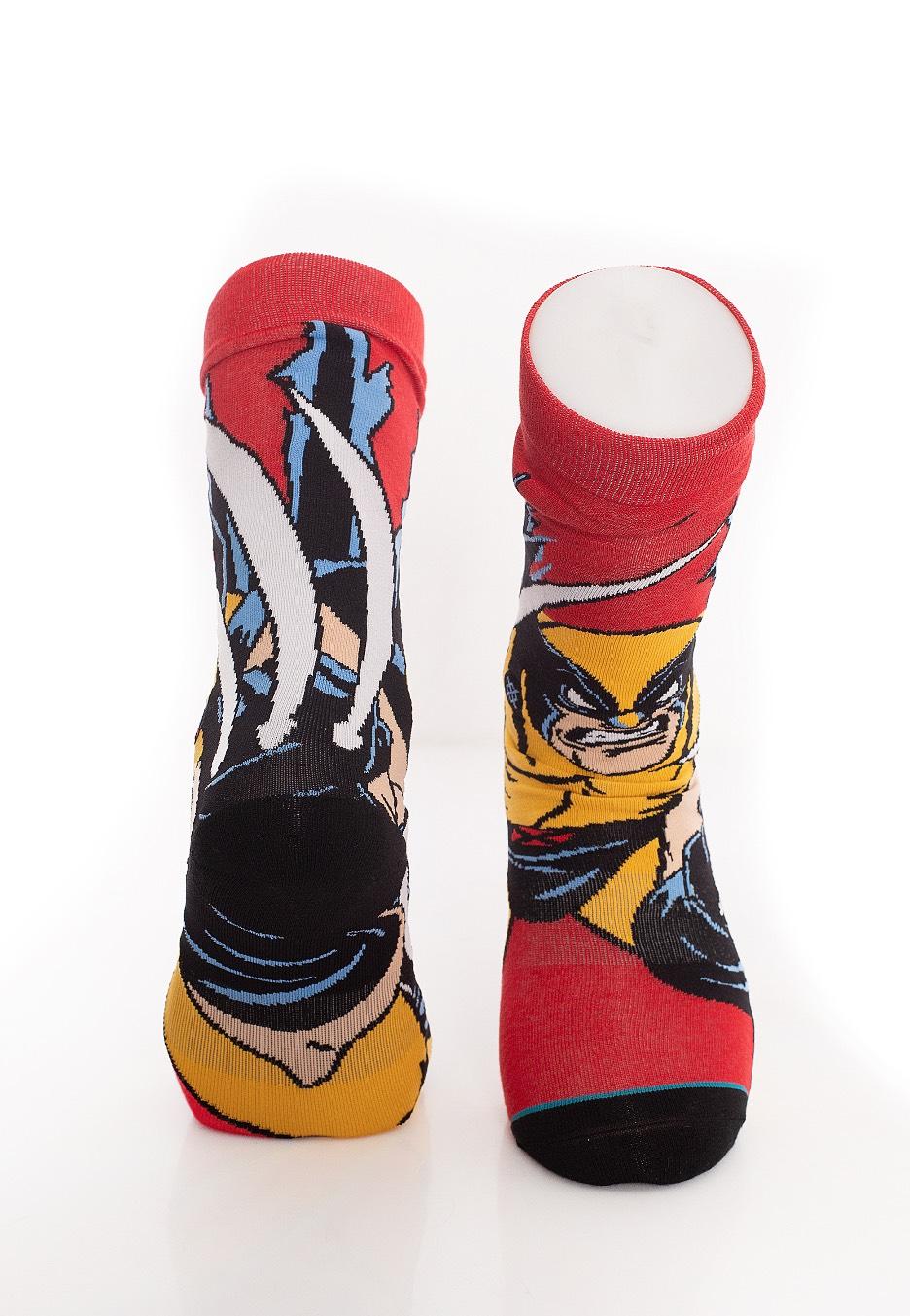 Red BNWT Stance NEW Unisex Xmen Wolverine Socks