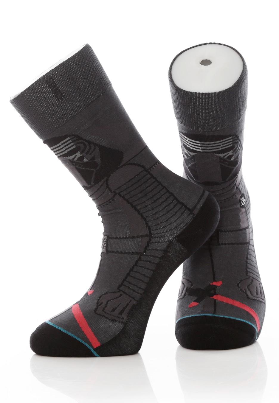 694d27b0b7 Stance x Star Wars - Kylo Ren Dark Grey - Socken - Streetwear Shop ...