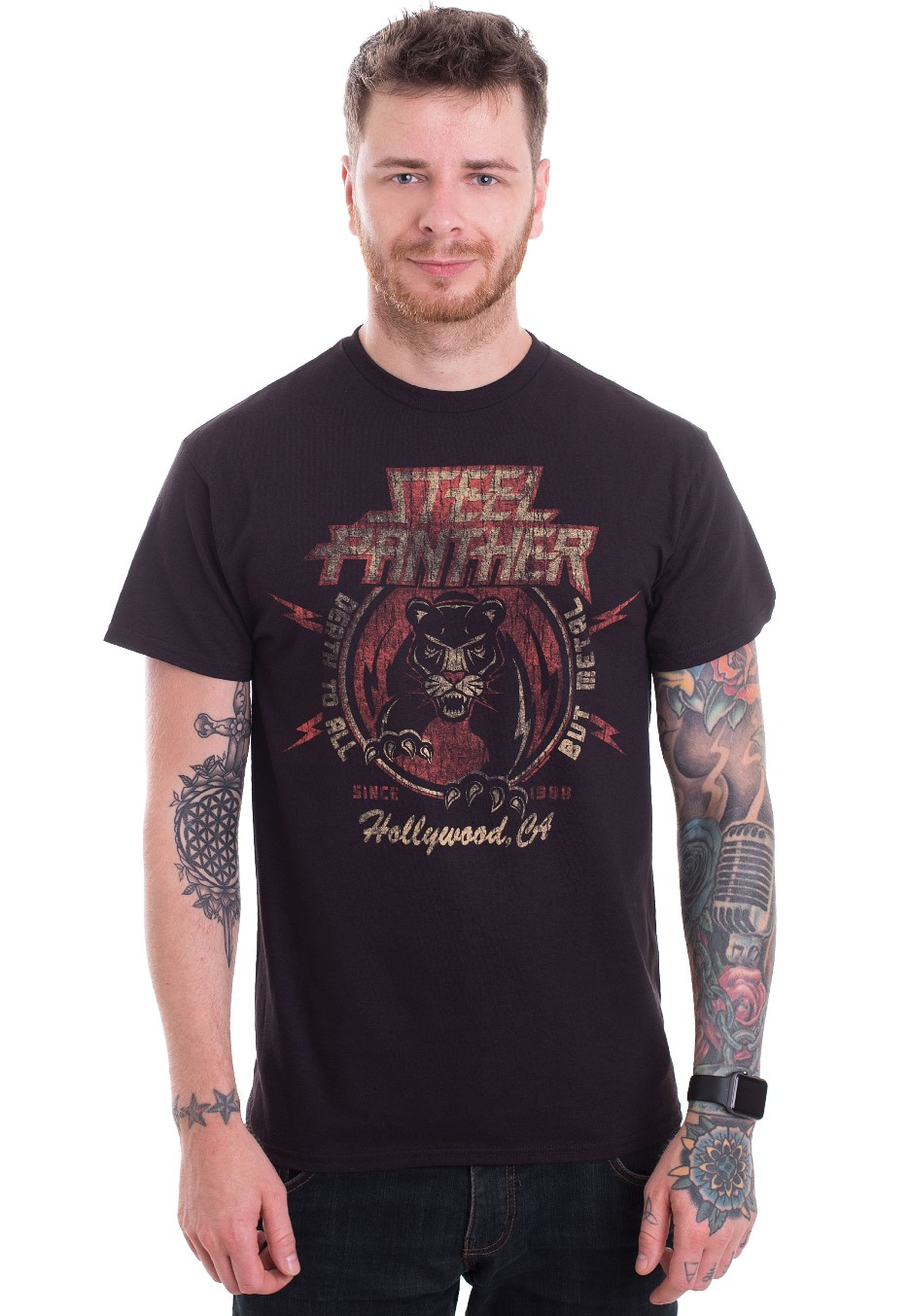 Steel Panther Tour Merchandise