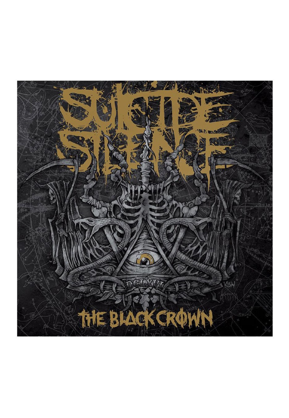 suicide silence the black crown cd dvd cds vinyl and dvds of your favourite bands. Black Bedroom Furniture Sets. Home Design Ideas
