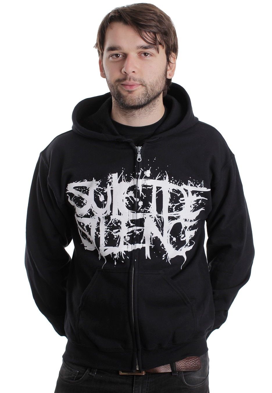 Suicide silence pull the trigger hoodie