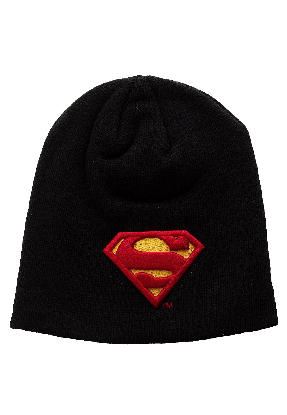 6836338b41b Superman - Classic 3D Logo Black - Beanie - Impericon.com UK