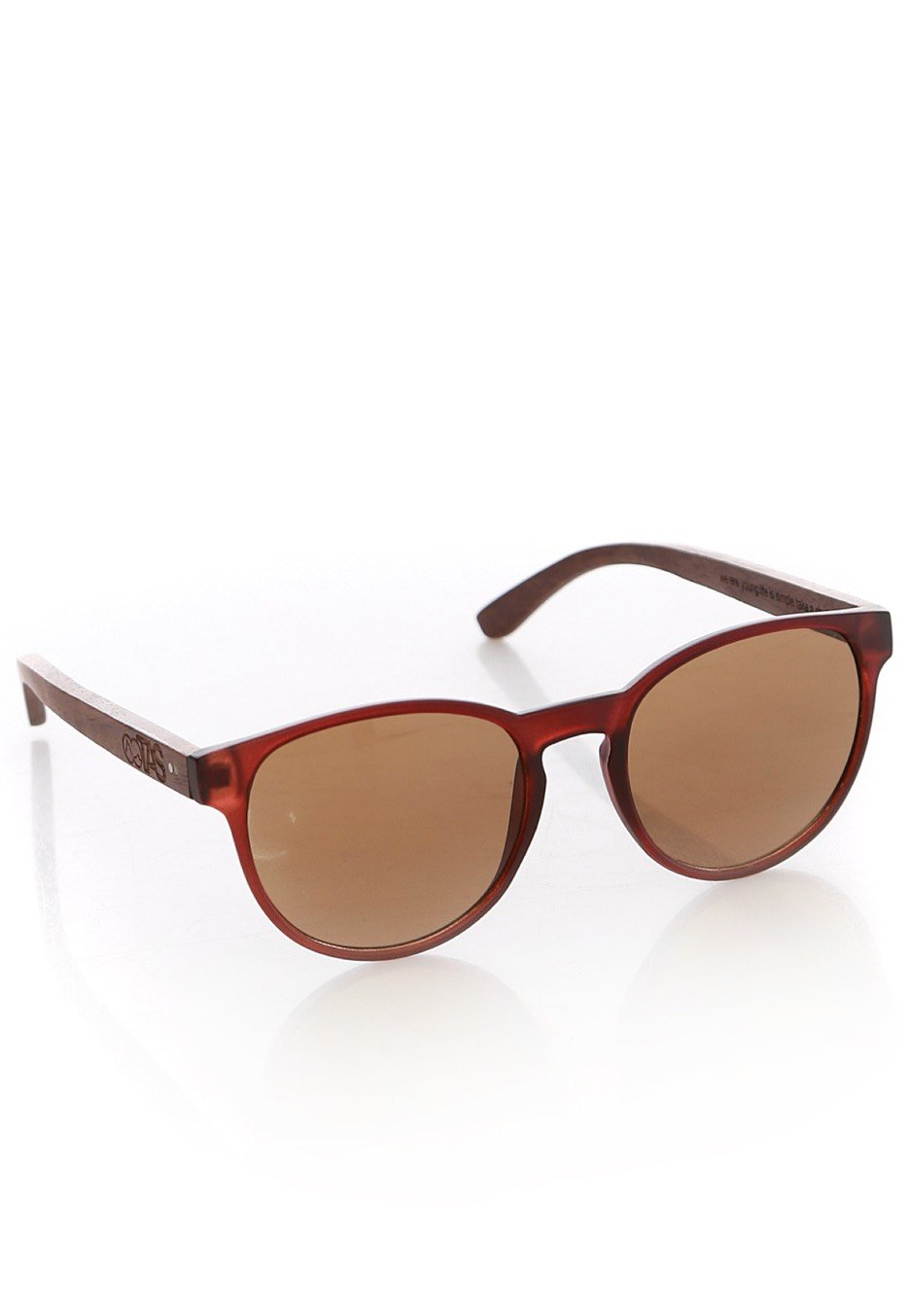 Take A Shot The Gryphon Walnut brown Lunettes de Soleil