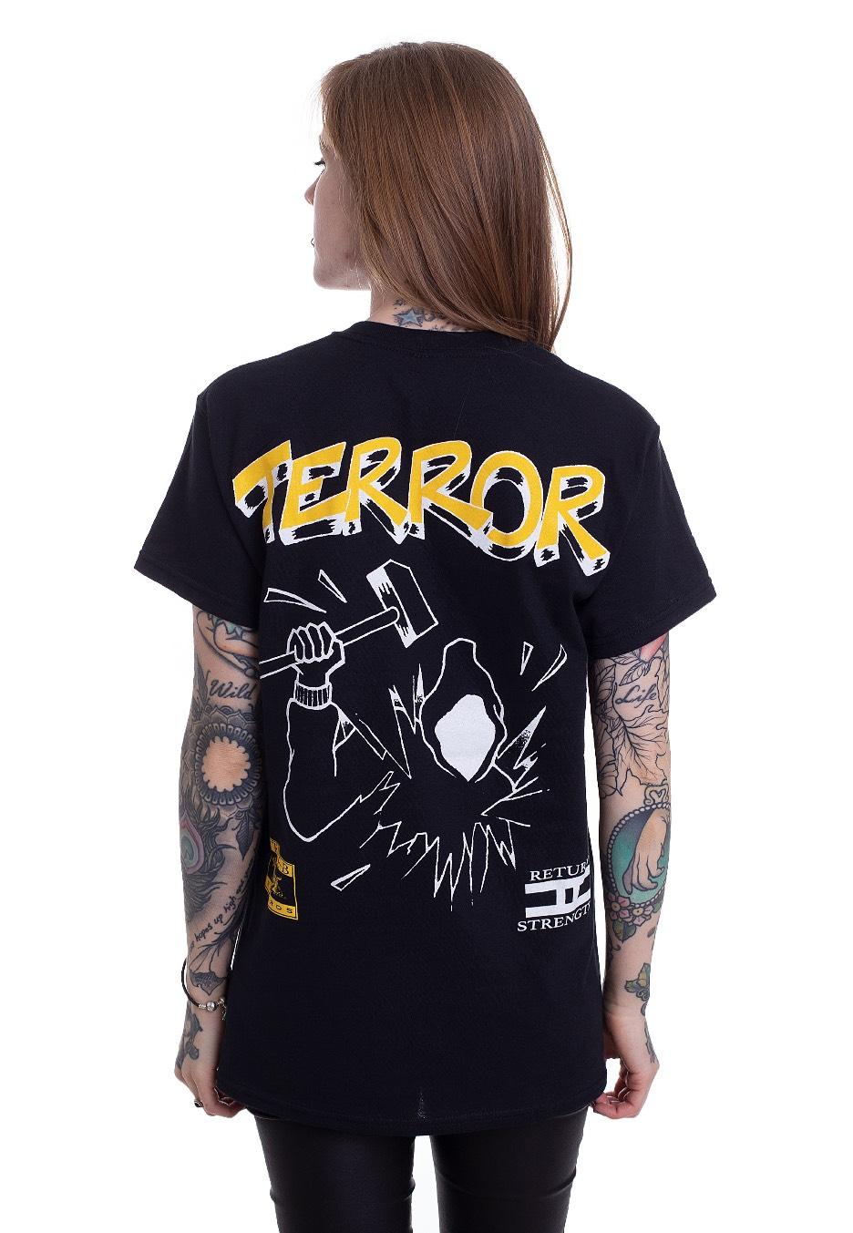 Terror Hammer Guy T Shirt Impericon Com At