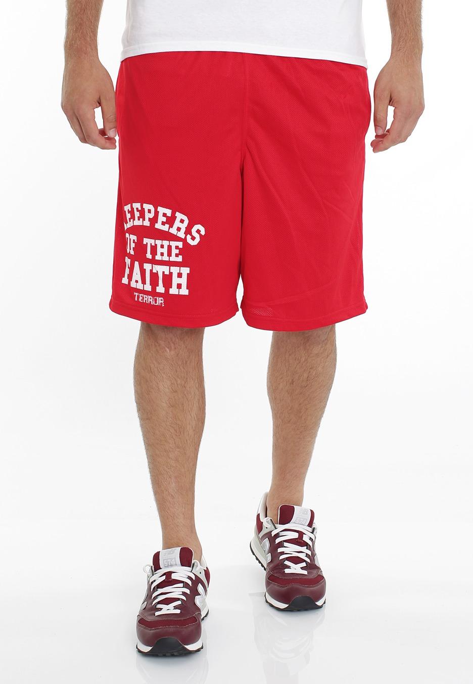 Terror - KOTF Logo Red - Shorts - Impericon.com Worldwide