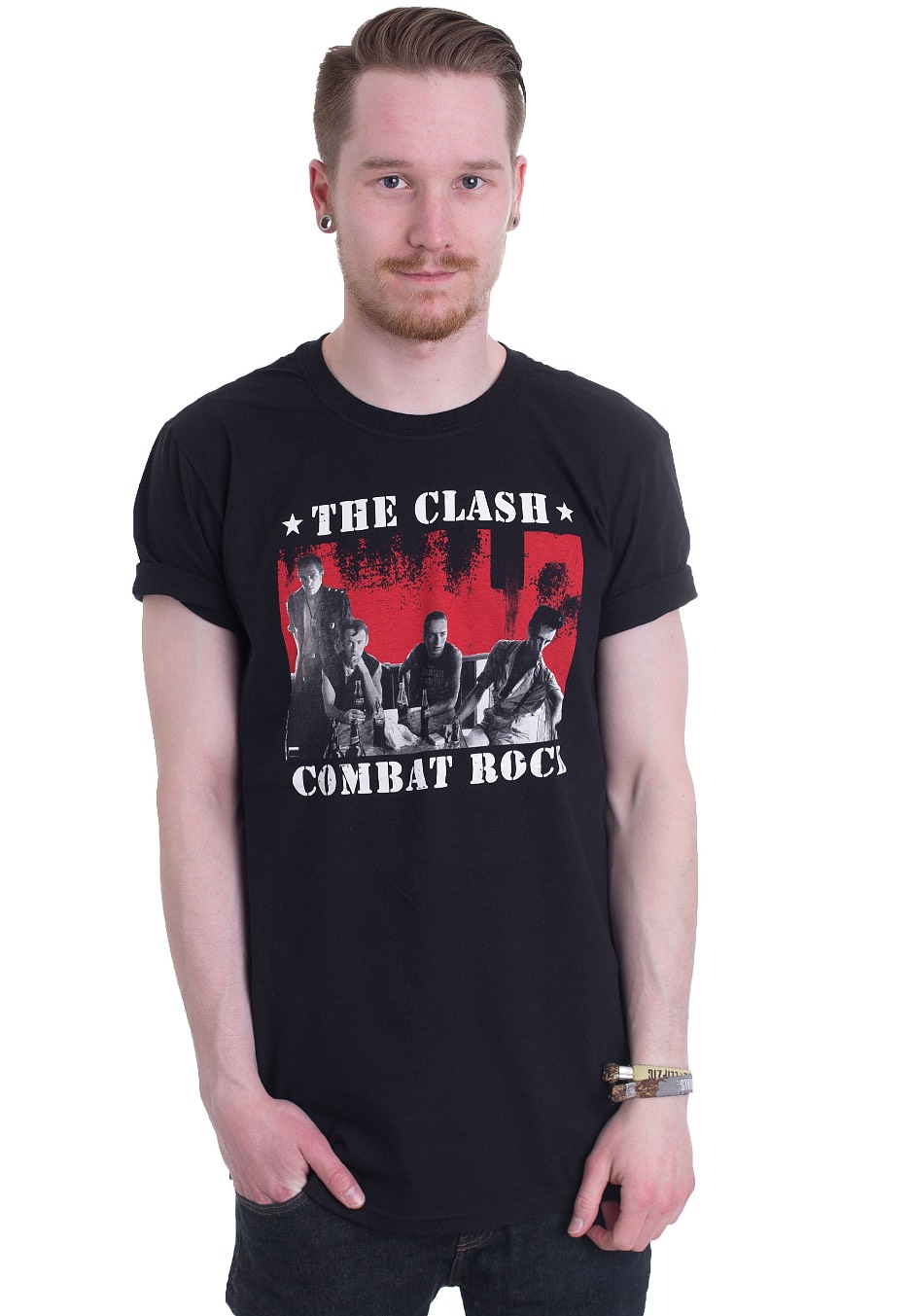 4e1a1a2cbb2 The Clash - Bangkok Combat Rock - T-Shirt - Official Punk Merchandise Shop  - Impericon.com US