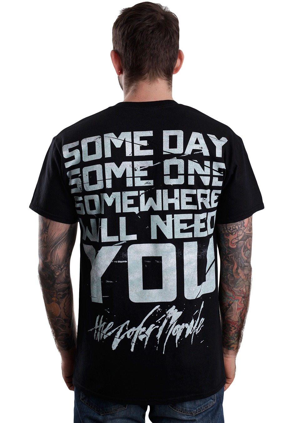 062e6bcd The Color Morale - Through - T-Shirt - Official Post Hardcore ...
