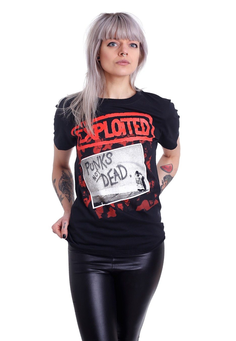 The Exploited - Punks Not Dead - T-Shirt - Official Rock Merchandise Shop - Impericon -3095