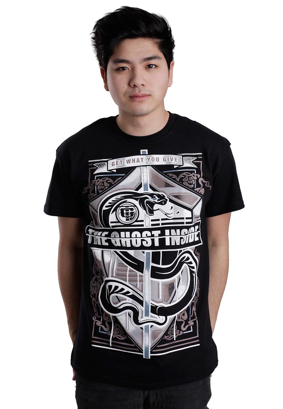 The Ghost Inside Snake Crest T-Shirt
