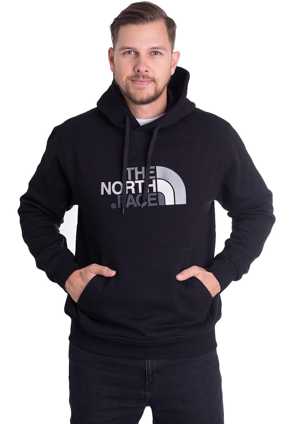 efb56351 The North Face - Drew Peak Black/Black - Hoodie - Streetwear Shop -  Impericon.com UK