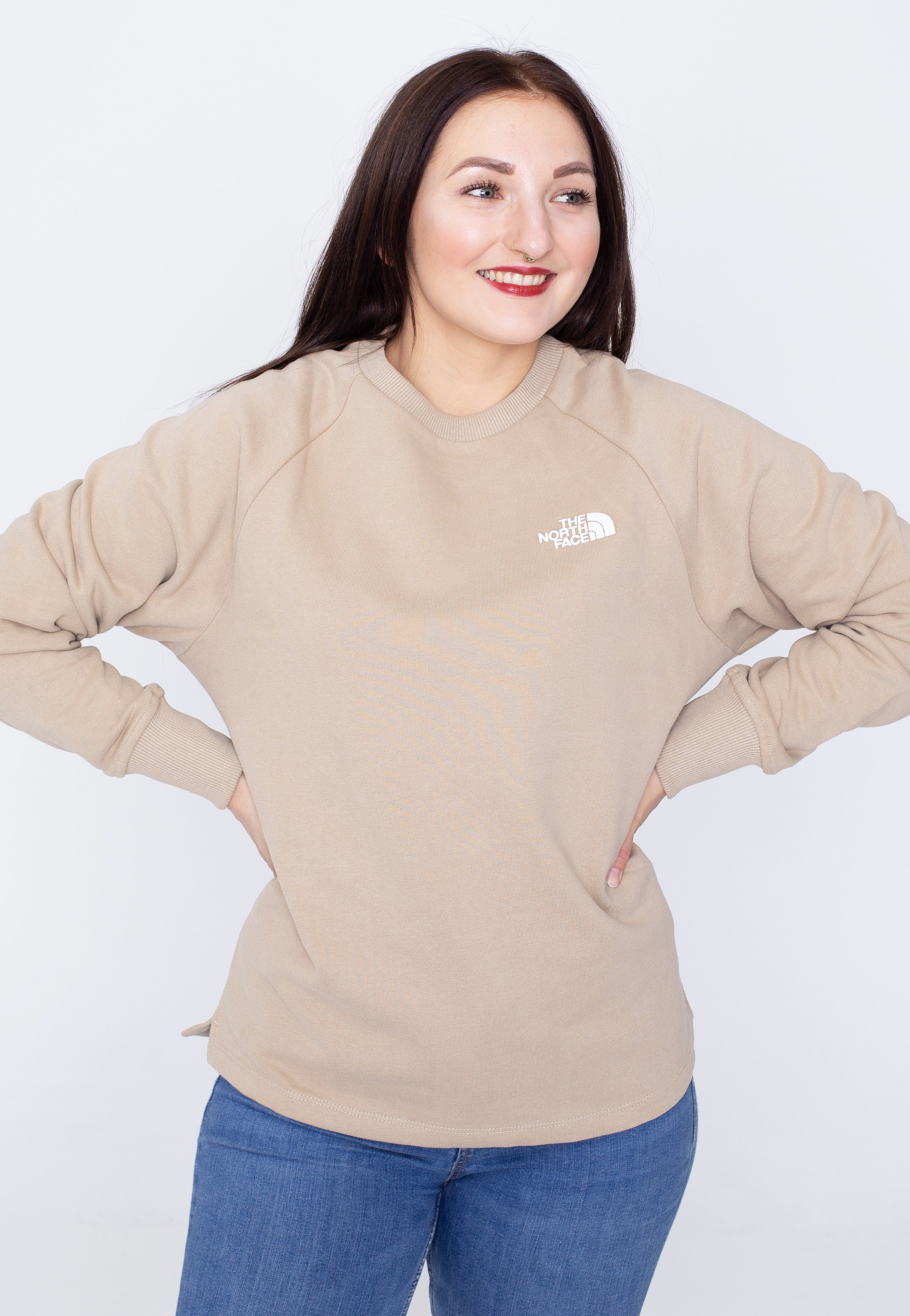 The North Face - Oversized Crew Flax - Sweaters