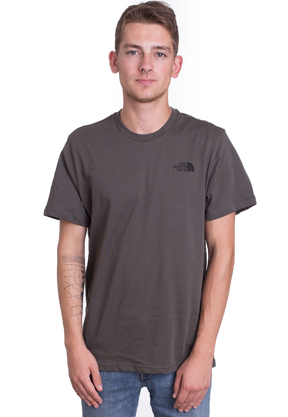 The North Face - Simple Dome NWTPE Green TNF Black - T-Shirt - Streetwear  Shop - Impericon.com AU c38a60286