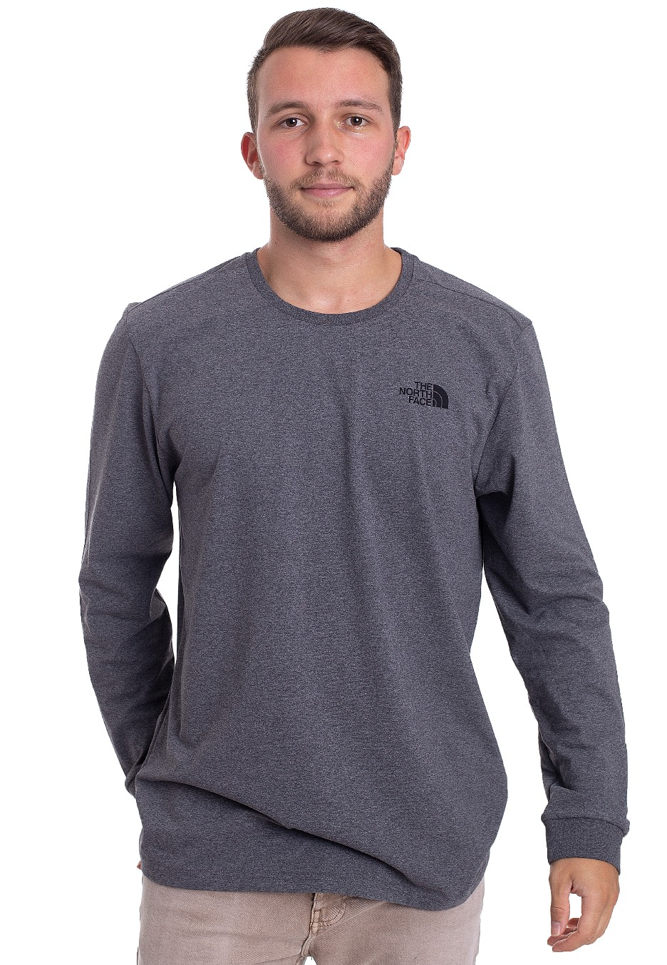 The North Face - Simple Dome Grey - Longsleeves