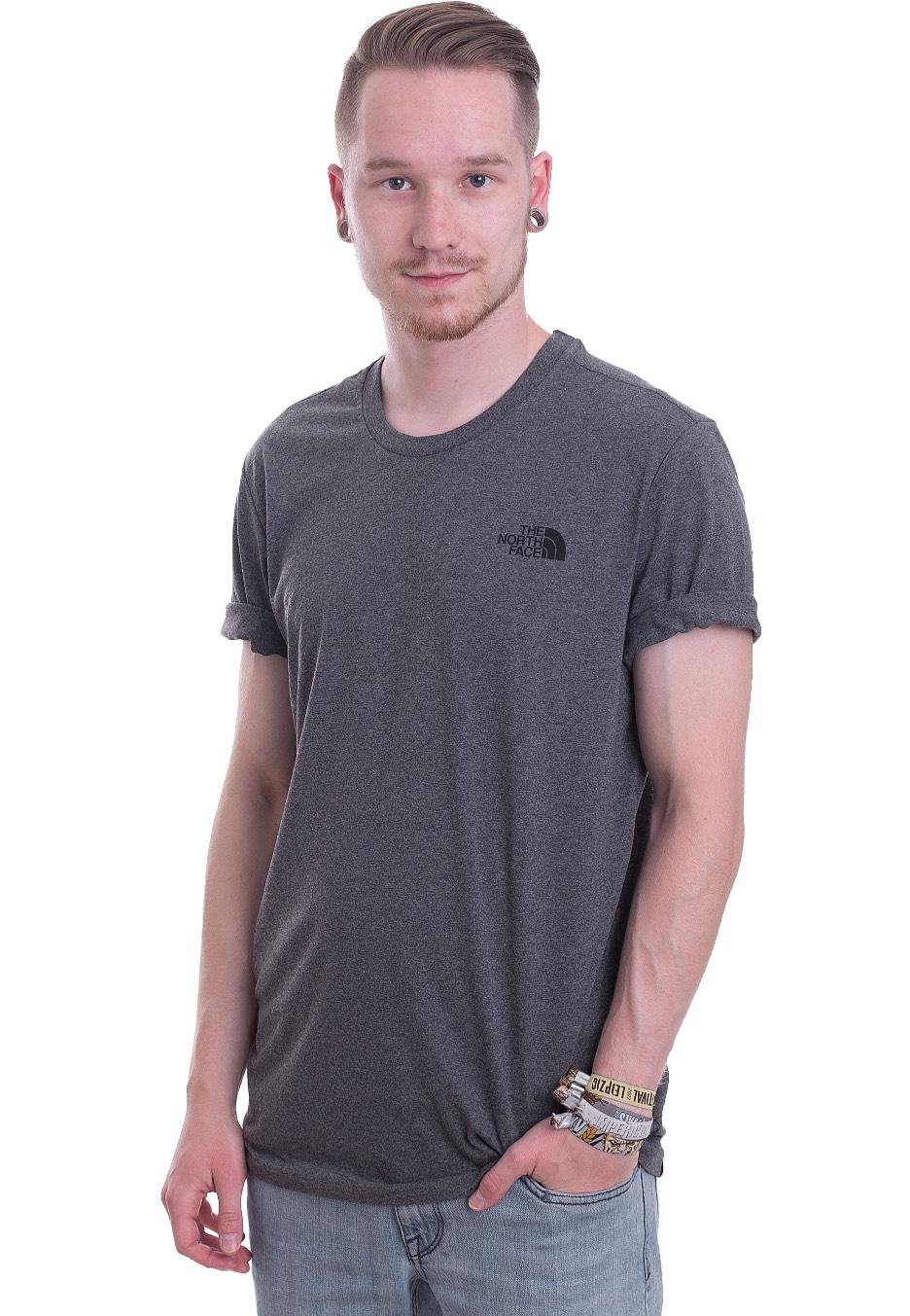 c7c5da1f The North Face - Simple Dome TNF Medium Grey Heather - T-Shirt - Streetwear  Shop - Impericon.com UK