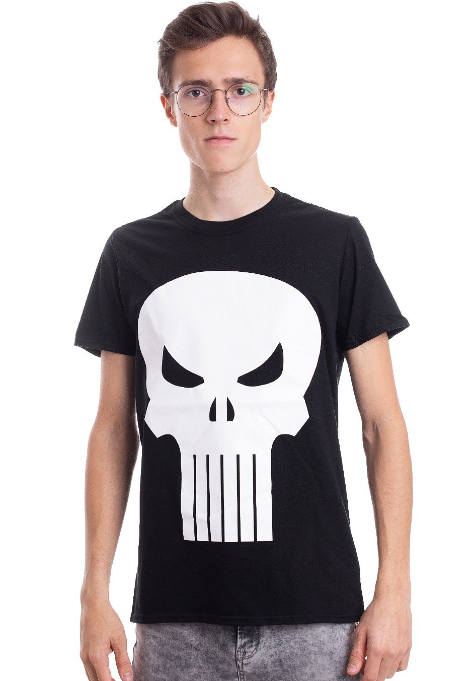 433d7957a The Punisher - Skull - T-Shirt - Impericon.com UK
