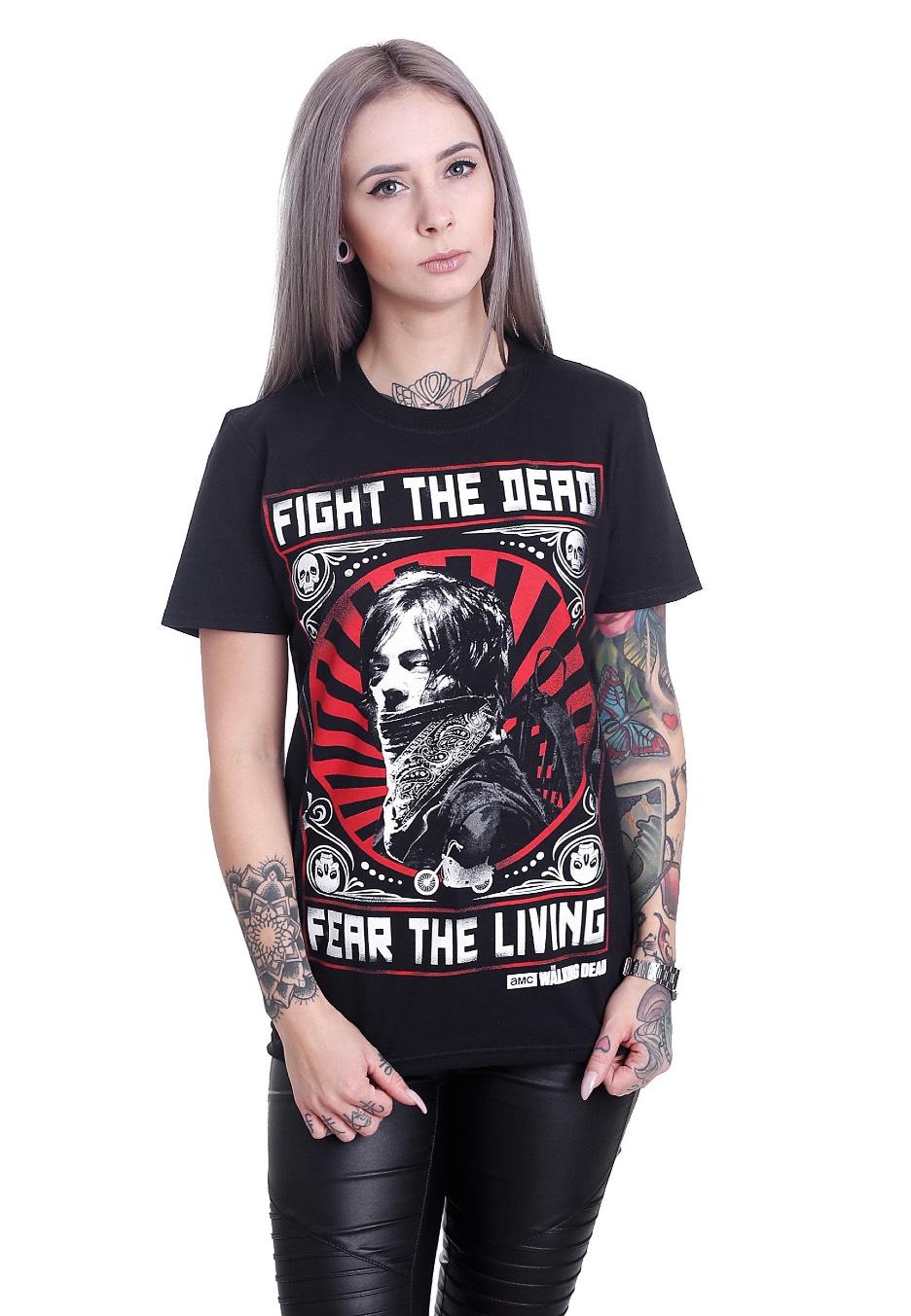 The Walking Dead Fight the Dead T Shirt